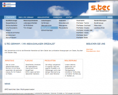 s-tec-germany Webseite