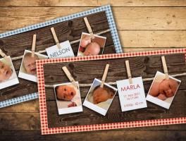 diverse Druckerzeugnisse // Geburtkarten